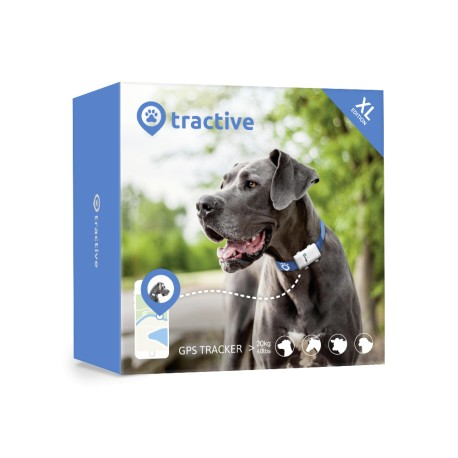 Tractive GPS Edition XL pour grand animaux (Batterie 6 semaines)